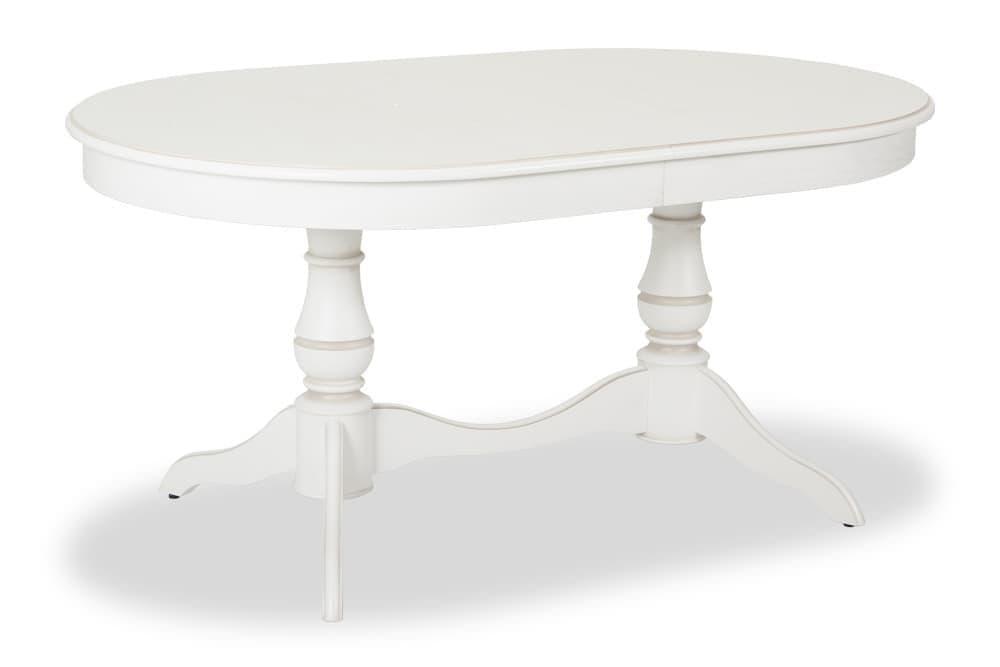 Стол классический обеденный раскладной ПАНАМА – Овальный