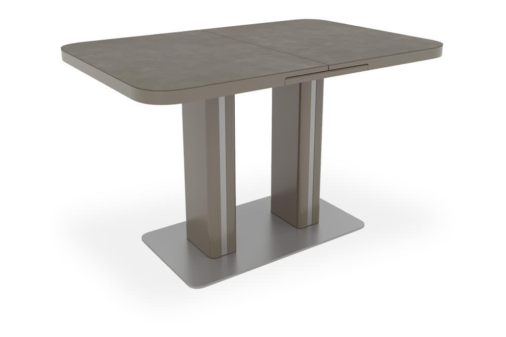 Стол лакированный обеденный раскладной DARIO – Прямоугольный фото