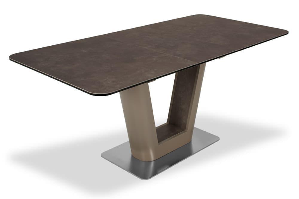 Стол лакированный обеденный раздвижной SPAIN – Прямоугольный