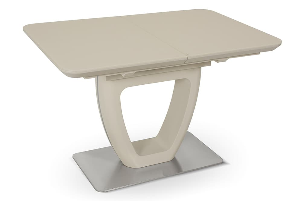 Стол лакированный обеденный раздвижной LAURA – Овальный AERO