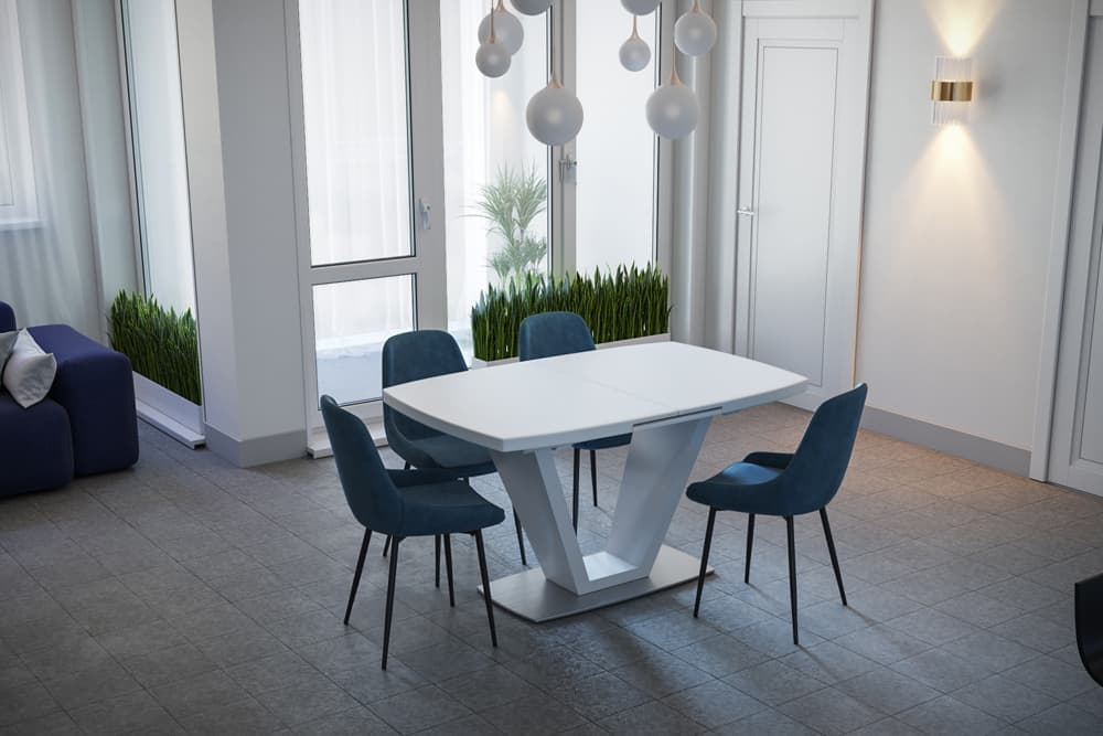 Стол деревянный обеденный раздвижной KANSAS – Прямоугольный фото