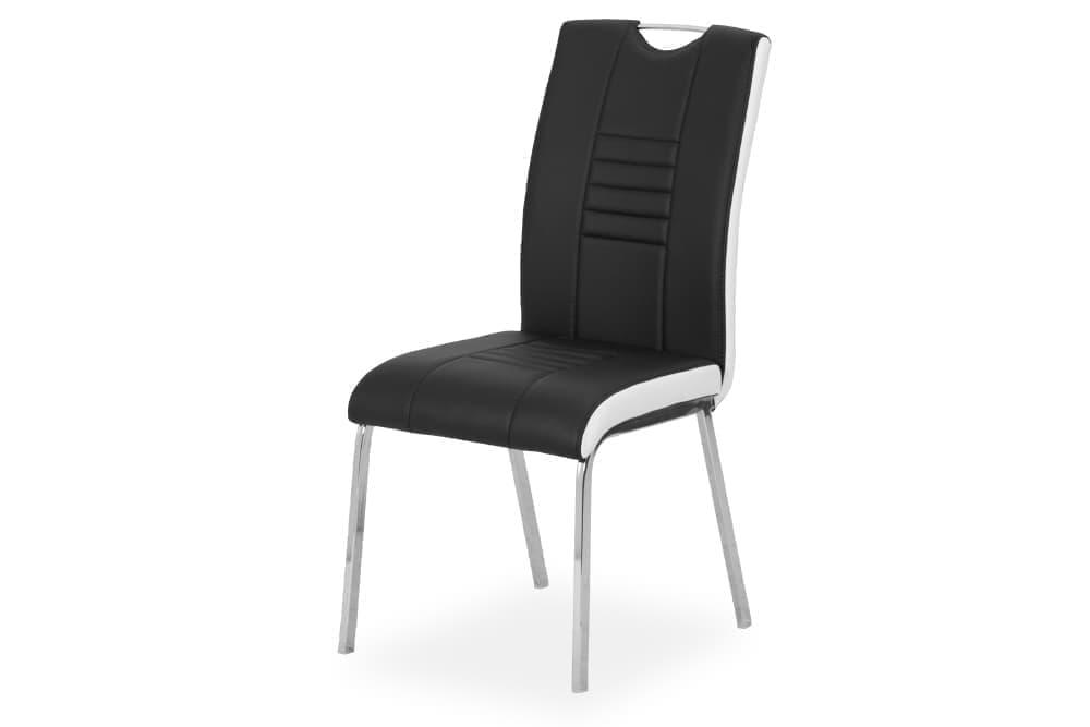 Стул для гостиной металлический B284 – черный, белый