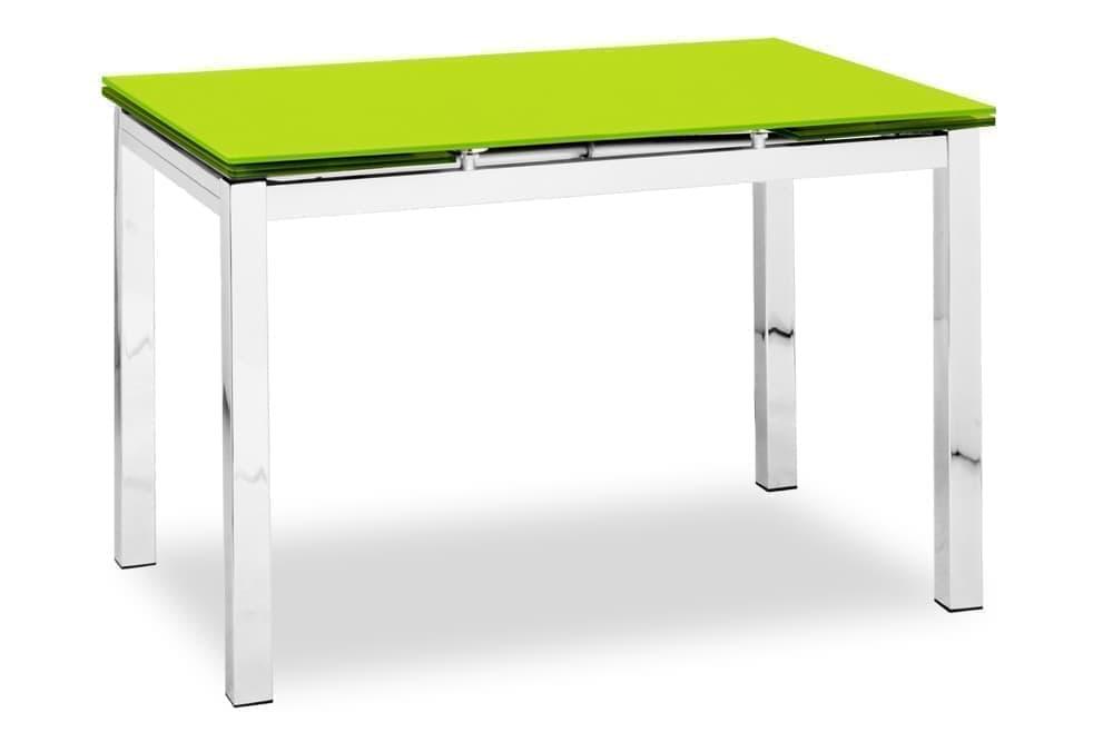 Стол стеклянный кухонный раскладной CUBO – Прямоугольный AERO