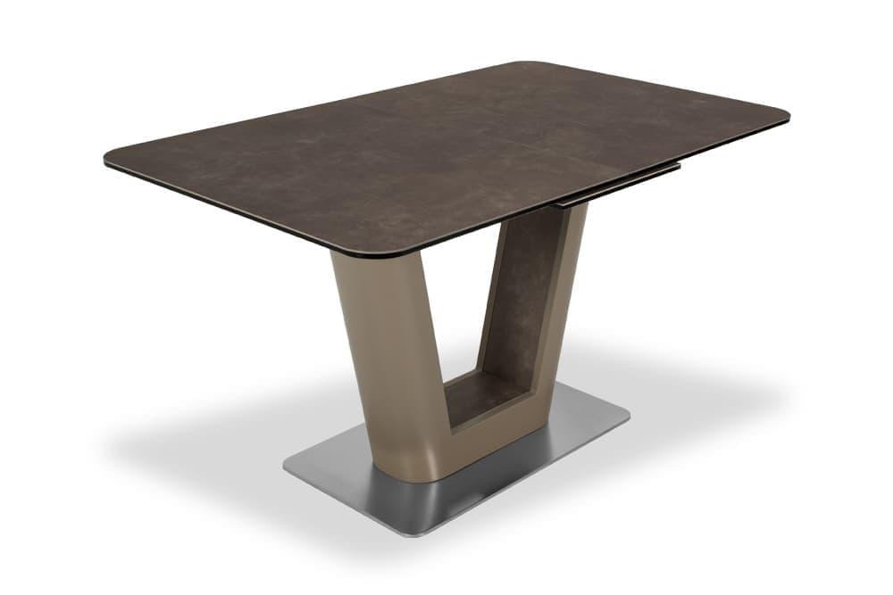 Стол лакированный SPAIN 160 LATTE CER AERO
