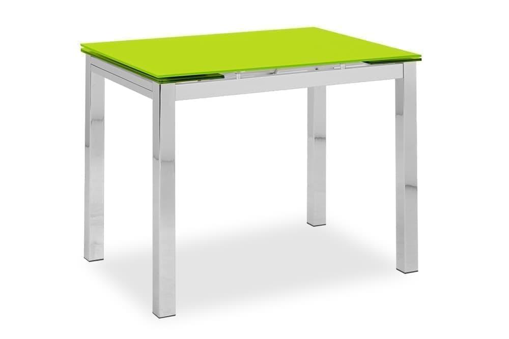 Купить со скидкой Стол стеклянный кухонный раскладной CUBO – Прямоугольный