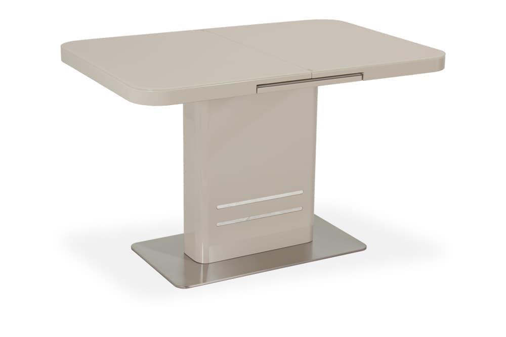 Стол лакированный обеденный раскладной SWEDEN – Прямоугольный фото