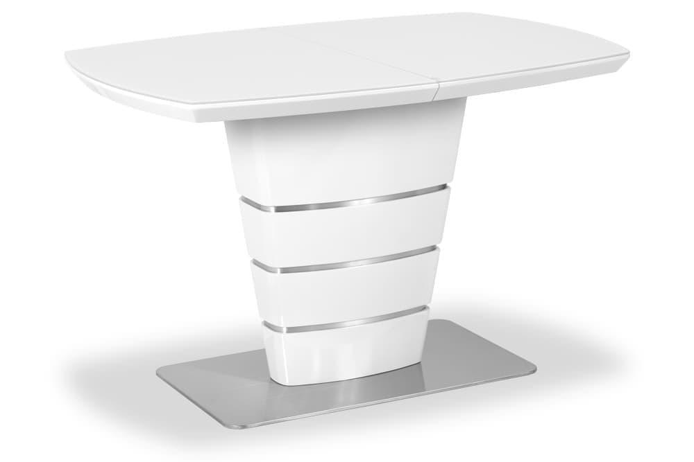 Стол лакированный обеденный раздвижной TERESA – Прямоугольный