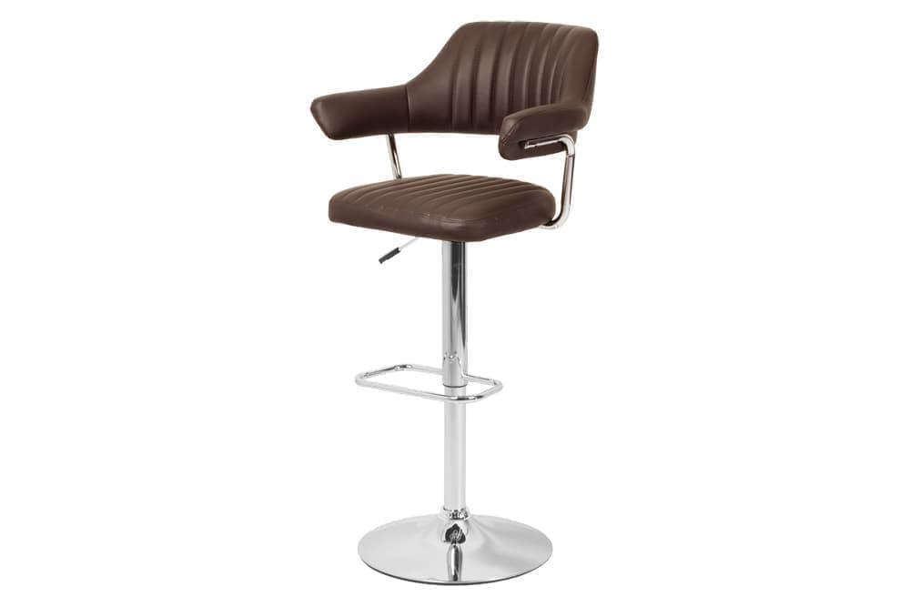 Барный стул BC77 – коричневый фото
