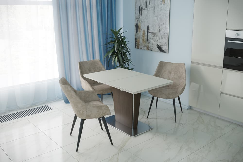 Стол деревянный кухонный раздвижной DALLAS – Прямоугольный