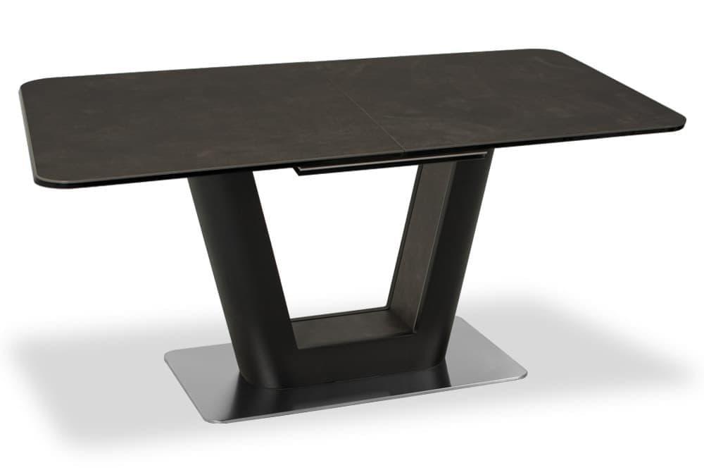 Стол лакированный SPAIN 160 BASALT CER фото