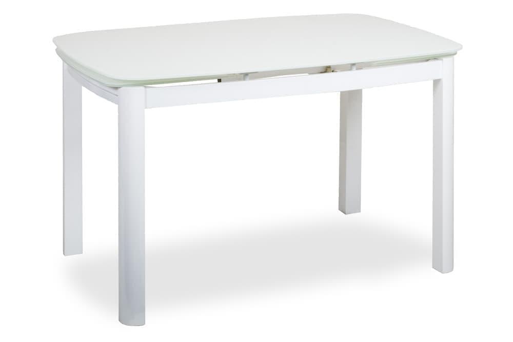 Стол стеклянный кухонный раскладной TULIP – Прямоугольный фото