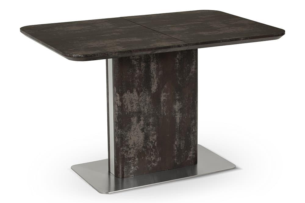 Стол лакированный обеденный раскладной BARBARA – Прямоугольный AERO