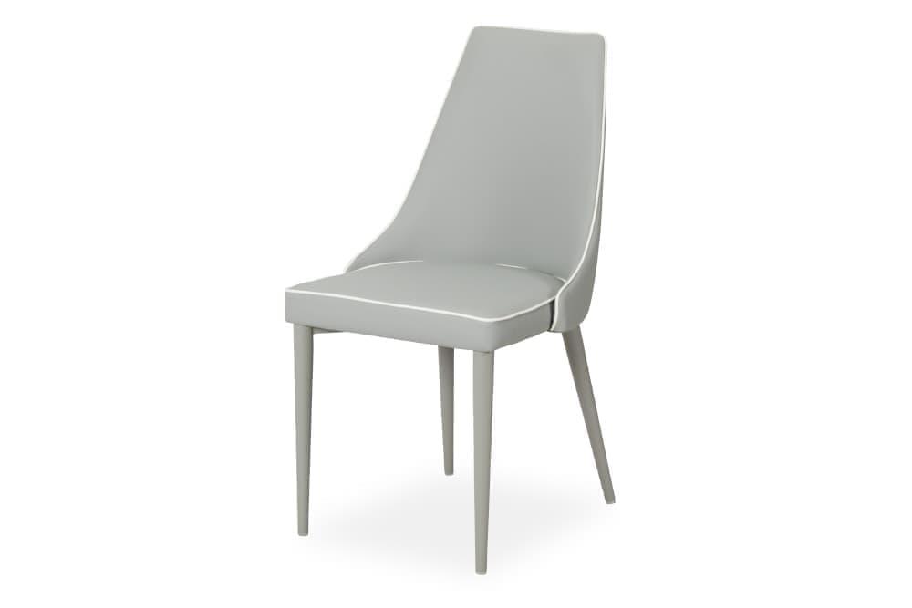 Стул для гостиной металлический B70 – серый фото
